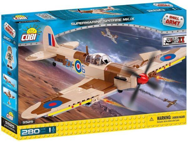 COBI TOYS #5545 Supermarine Spitfire Mk.IX Desert Airstrip Building Set