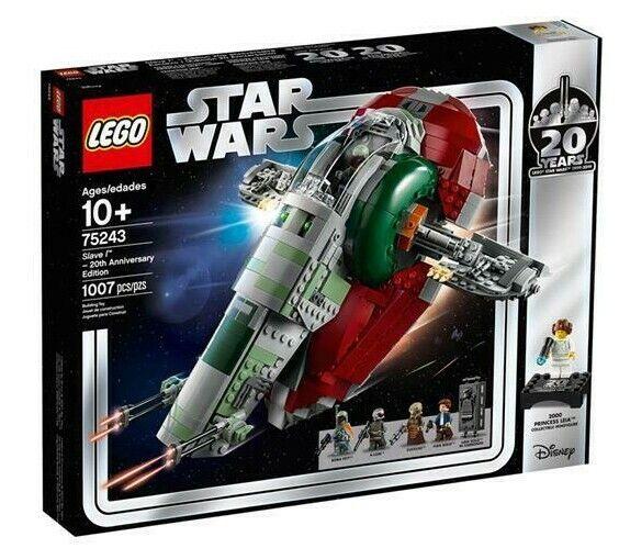 NEW LEGO Star Star Star Wars 20th Anniversary Edition - Slave 1 - set 75243 - 1000 pieces 14ec7e