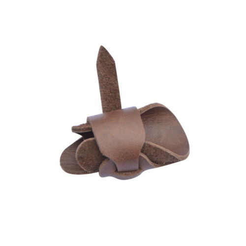 Archery Thumb Glove Finger Guard Sheepskin Leather Bow Hunting Shoot Protector