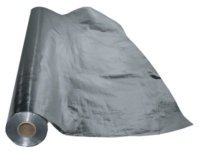 100SF Reflective Foam Thermal Foil Insulation Radiant Barrier 4 X 25 Ft Roll