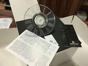 Swarovski-Figurine-168003-Helios-Horloge-12-cm-avec-Ovp-amp-Certificat-Haut