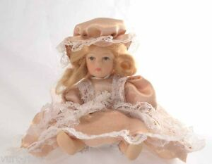 Bambolina Di Porcellana - Porcelain Doll - #9 Nuovo Pour ExpéDition Rapide