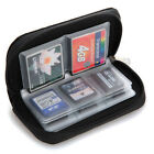 For SDHC MMC CF Micro SD Memory Card Storage Carrying Pouch Case Holder Wallet
