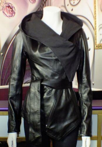 Luxus Designer Damen modische echte Lederjacke// Gr.34,40 NEU