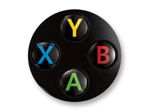 Porte clé Keychain Ø45mm Manette Pad Controller Joystick Retro Game Xbox