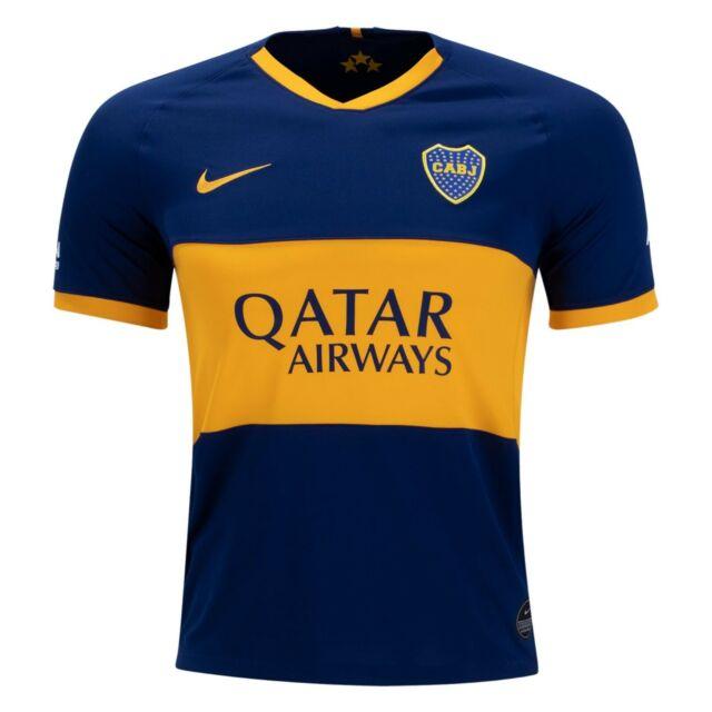 quality design 687c5 bdd09 Nike Boca Juniors Official 2019 2020 Home Soccer Football Jersey