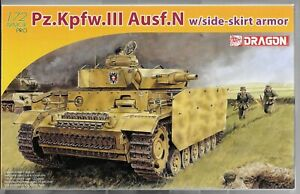 Dragon-Pz-Kpfw-III-Ausf-N-w-Side-Skirt-Armor-in-1-72-7407-ST