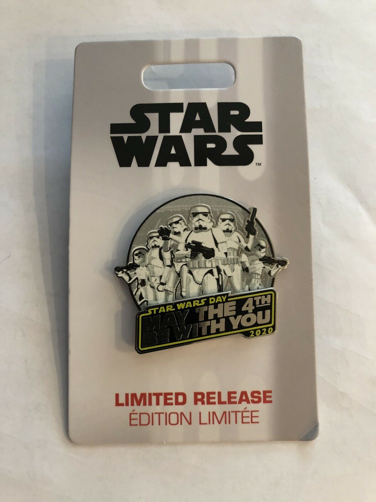 Star Wars Day - May the 4th be with you 2020 Disney Pin 465055458112