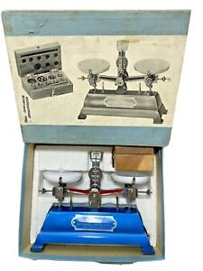 Compass-Beam-Scale-No-446-Instrument-amp-Optical-Co-New-York-w-Box-Japan-Vintage