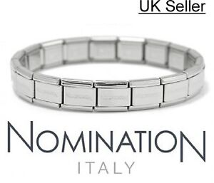 NEW-Genuine-NOMINATION-Classic-Starter-Charm-Bracelet-with-Official-Packaging