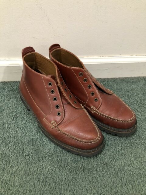Vintage Orvis Gokey Style Brown Leather Lace Up Chukka Boots Size 9.5 Outdoors