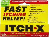 Itch-x Anti-itch Gel Itch Relief 1.25 Oz Each on Sale