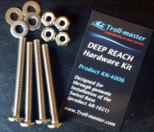 Downrigger Mounting Hardware Kit for Penn Troll-Master SWIVEL Base DEEP REACH