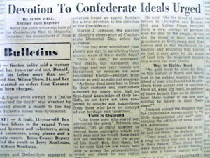 Newspaper W Detailed Essay On Confederate Ideals To Be Honored  Image Is Loading Newspaperwdetailedessayonconfederateideals