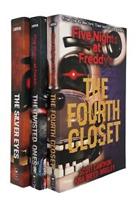 Five-Nights-at-Freddy-039-s-Scott-Cawthon-3-Books-Gaming-Kids-Horror-Teen-New