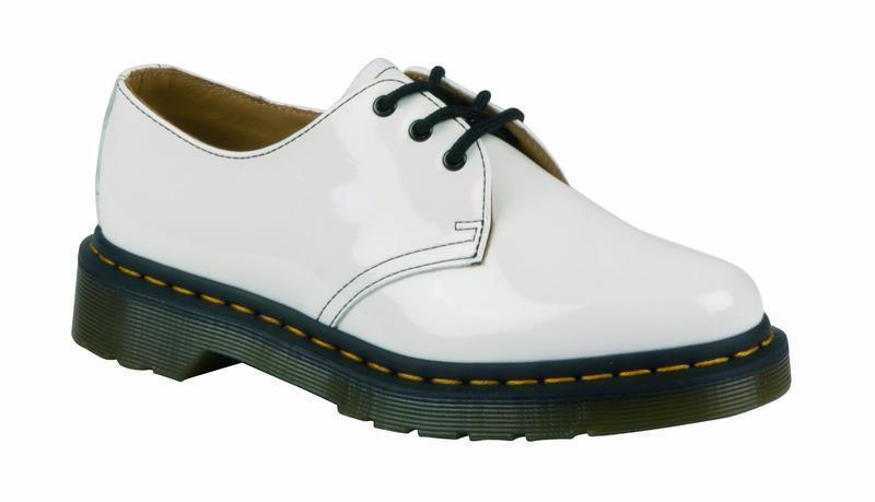 Dr Martens 3 Loch 1461 White Patent 20499100 Original Doc Doc Doc 489354