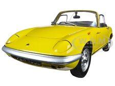 1966 LOTUS ELAN SE ROADSTER YELLOW 1/18 DIECAST MODEL CAR BY SUNSTAR 4056