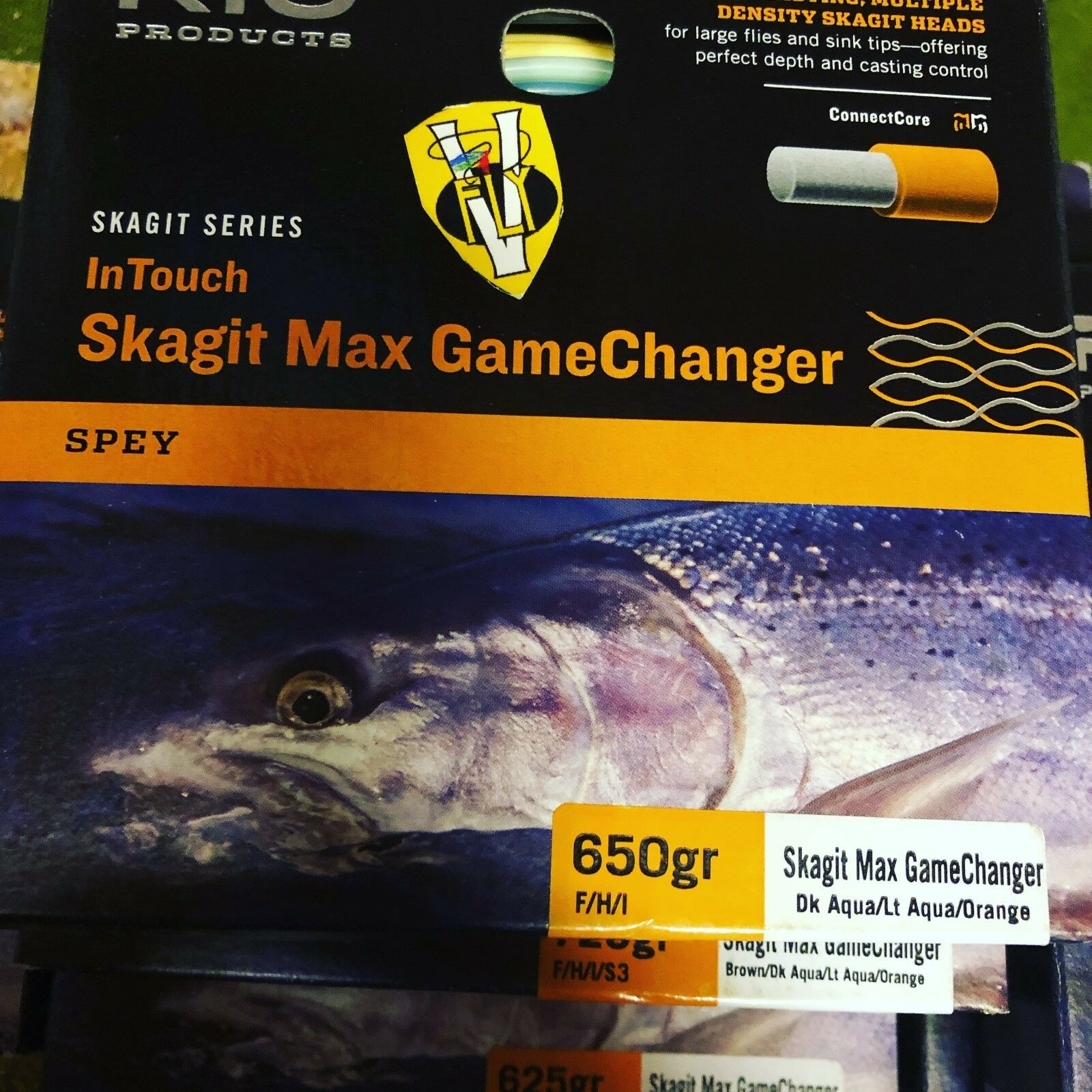 Multi Listing Rio Skagit Series In Spey Touch GameChanger Spey In Salmon Fly Lines e3efbf