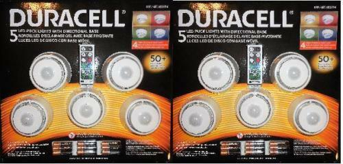Paquete De 5 Luces Led Duracell Con Base Direccional   envío Gratuito      nuevo