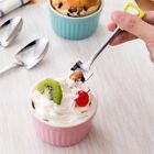 Stainless Steel Spoon Fork Coffee Ice Cream Soup Spoon Long Handle Tea Spoons