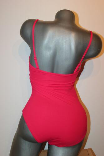 "TRIUMPH Costume da bagno /""Venere ELEGANCE OPD 14/"" tg 38 B ROSA BANDEAU SENZA STAFFA"