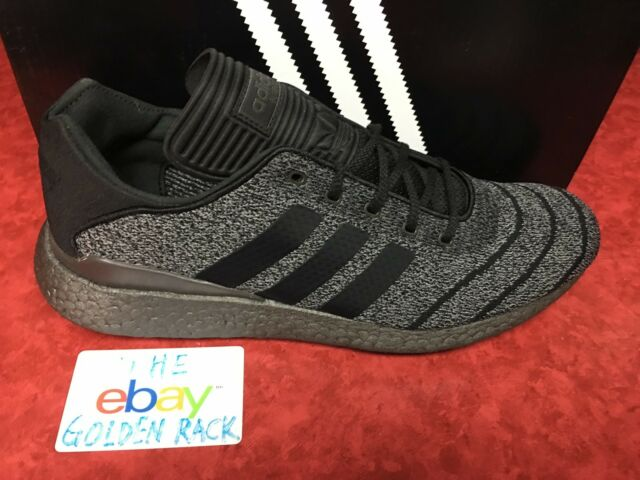 1a3b2b70e4826 Adidas Pure Boost Busenitz PK Men s.Skateboarding Shoes Gray Black CQ1160