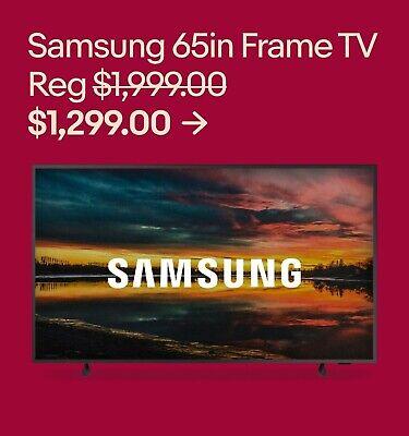 Samsung 65in Frame TV