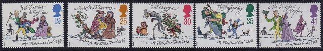 GB 1993 Christmas SG 1790-1794 MNH Mint
