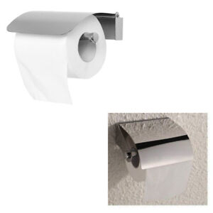 Porta Carta Igienica Da Muro.Porta Rotolo Carta Igienica Da Muro Accessorio Bagno Wc
