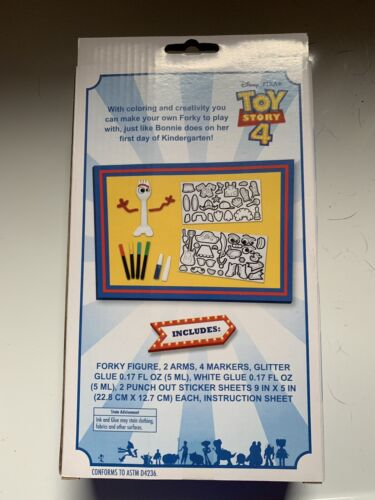 Disney Toy fazer 4 Story Your próprio Forky Conjunto Novo!