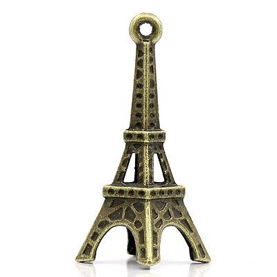 Tour Eiffel 3,5cm Modèle Figurine Bronze Style Mini Statue Déco Porte Clé | eBay