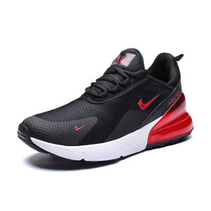 Men-039-s-Sneakers-270-Athletic-Flyknit-Outdoor-Running-Air-Cushion-Jogging-Shoes