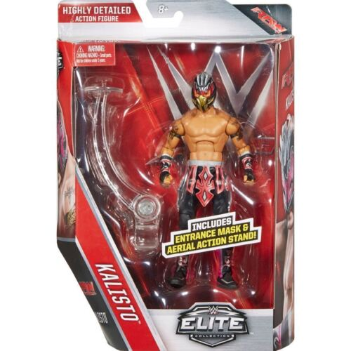 WWE ELITE 42 Kalisto-Mattel Wrestling Figure NEUF//coffret Cruiserweight 205 Live
