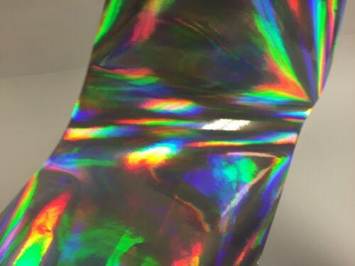 "Oil slick Rainbow Holographic  Vinyl 12/"" x 30 Feet Free Shipping"