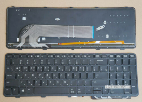 Korean /& US Keyboard for HP Probook 650 G1 655 G1 787801-AD1 780170-AD1 Backlit