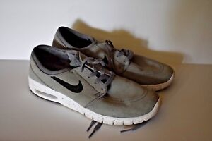 new product 4e66b fbdc7 Image is loading Nike-STEFAN-JANOSKI-MAX-L-Cool-Grey-Black-