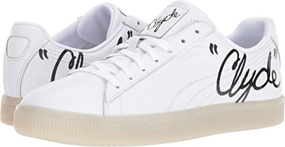 PUMA CLYDE firma hielo Tenis Zapatos blancooo Negro para Hombre