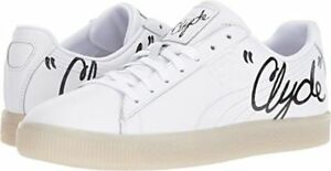 2db3b8db08510d PUMA CLYDE SIGNATURE ICE Sneakers Shoes White Black Mens SIZE 5 6.5 ...