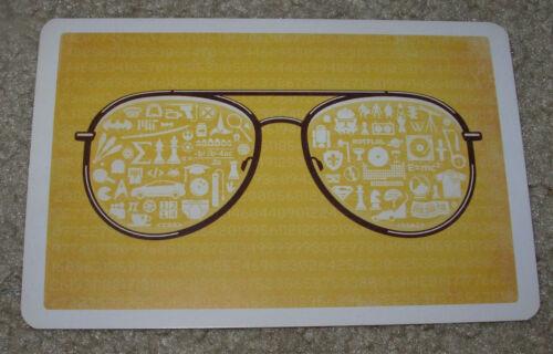"""DKNG WHITE /& NERDY Art Postcard Handbill 4 X 6/"""" like silkscreen poster print"""