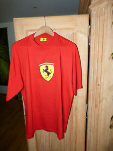 Ferrari T Shirt Official Licenced Produkt Nice Man Sports Gr 003 Ca Xxl Rot Ebay