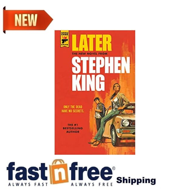 Later New Novel Hard Case Crime Books Author Stephen King Paperback 272 Pages