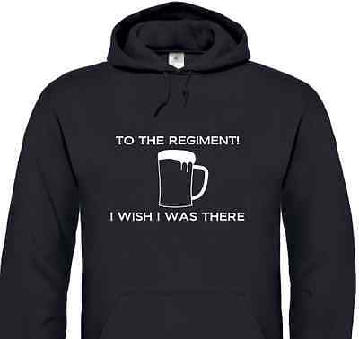 /'To the Regiment. I wish I was there!/' T-Shirt inspired by Early Doors comedy