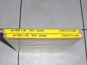 Schleifpapier-100-Blatt-1200-Korn-Neu-von-SIA-1