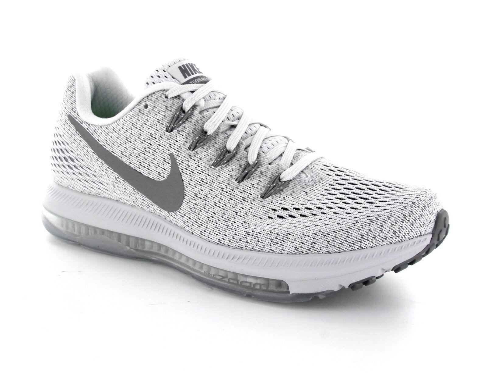 Nike air zoom tutte le scarpe da corsa di puro platino 878671-010 dimensioni 6 msrp