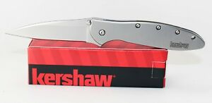 Kershaw-Leek-Stainless-Assisted-Opening-Knife-1660-Ken-Onion-Design-Plain-Edge
