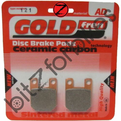 Brake Pads Goldfren Rear Beta Eurotek Techno 1996-1998