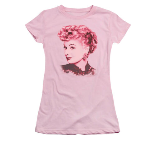 I Love Lucy Show Lucille Ball BEAUTIFUL Licensed Juniors Cap Sleeve T-Shirt