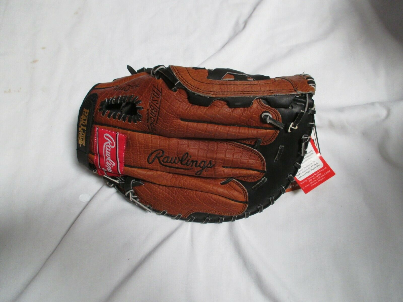 RAWLINGS RPT-FB  FIRST BASE MITT LH PLAYER(GOES PLAYER(GOES PLAYER(GOES ON RIGHT HAND) 3d39ad