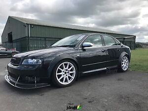 audi a4 s4 fender flares wide body kit wheel arch 3 5 inch 90mm rh ebay com 2002 Audi A6 Service Manual 2002 Audi Car