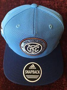 7d193fb2d3c ADIDAS NEW YORK CITY FOOTBALL CLUB SNAPBACK CAP RARE SAMPLE 1 1 HTF ...